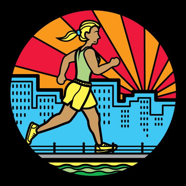 Virginia Beach running boardwalk