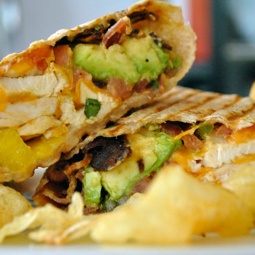 avocado chicken wrap breakfast lunch virginia beach