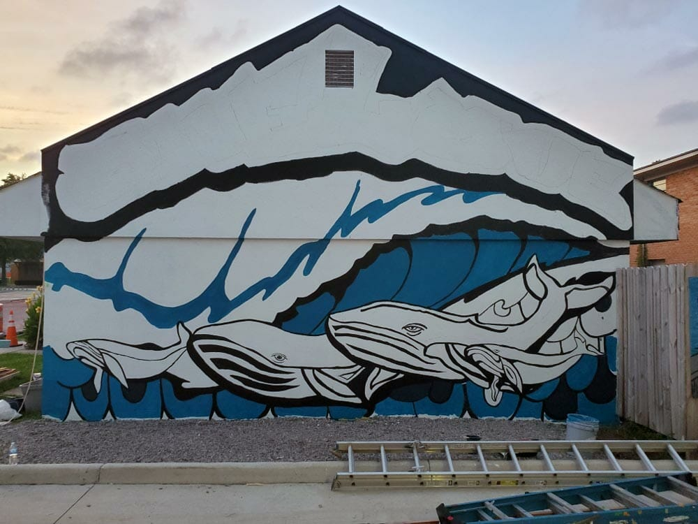 rick ricketts mural virginia beach