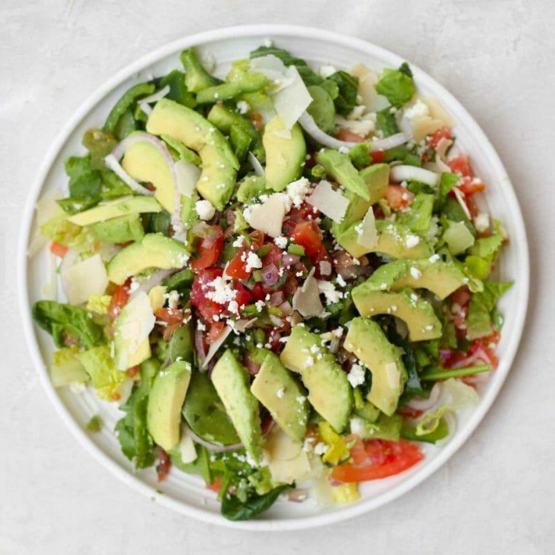 avocado pico de gallo salad