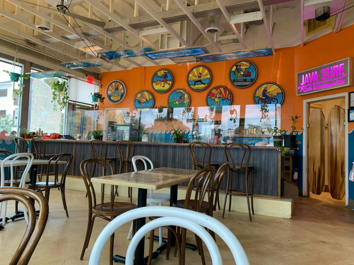 cafe restaurant indoor dining room