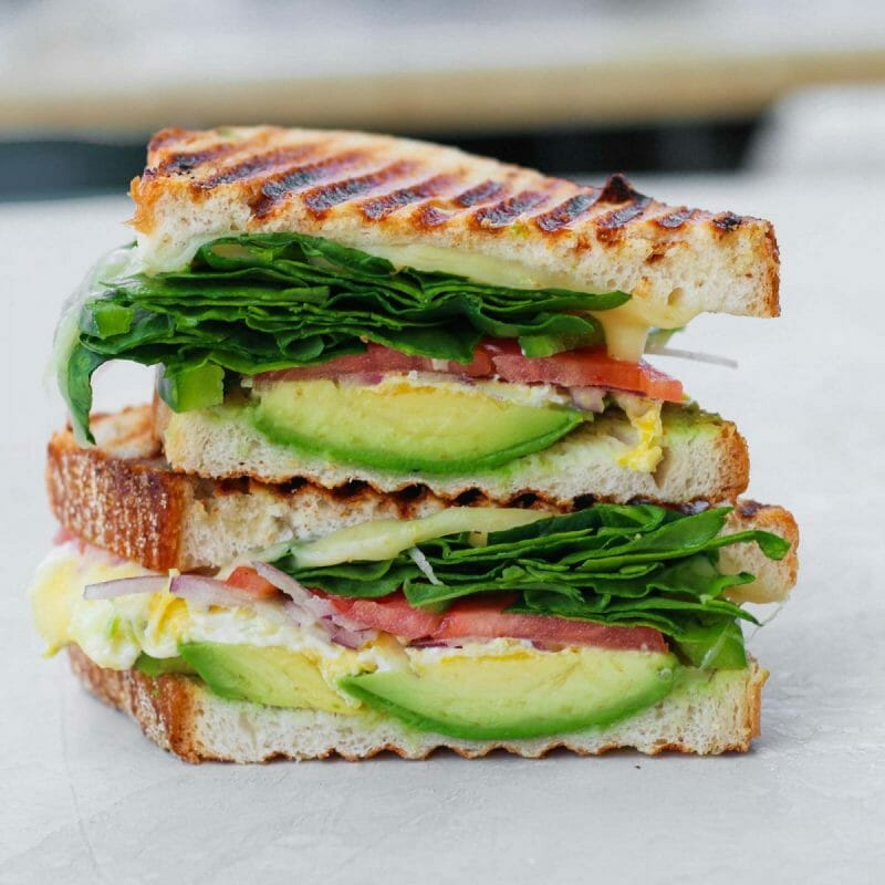 wipeout breakfast egg sandwich